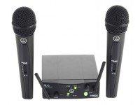 Sistema sem fios com microfone de mão AKG WMS40 Mini DUAL Vocal