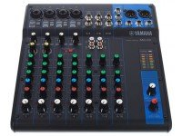 Yamaha MG-10 Mesa de som analógica  Mixer de 10 canais  4 entradas de microfones / 3 entradas estéreo  1 Barramento estéreo  1 Saída AUX  Pré amplificadores com circ...